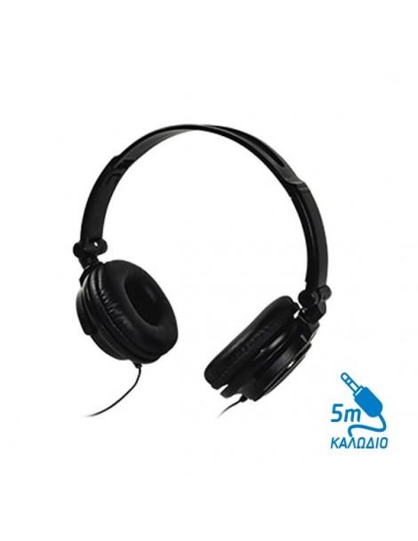 Ακουστικό με καλώδιο 5m Msonic