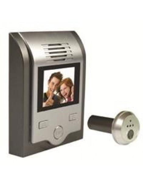 Ματάκι πόρτας KS-201C+02C με οθόνη και κάμερα 85014