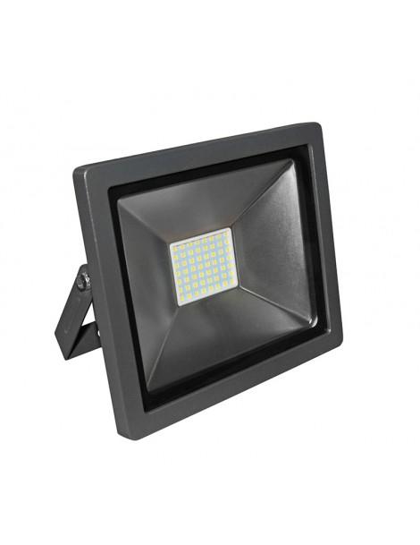 ΠΡΟΒΟΛΕΑΣ LED-SMD slim 30W 230V 3100K ΘΕΡΜΟ IP65 ΑΝΘΡΑΚΙ