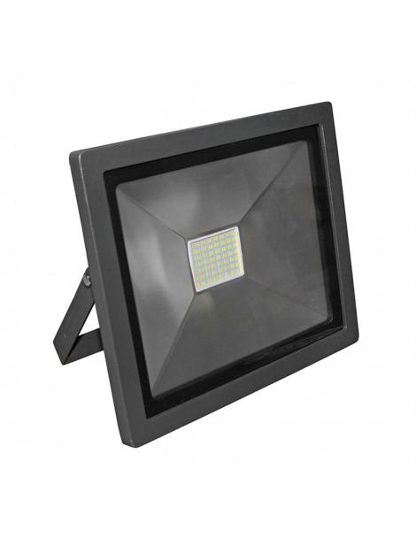 ΠΡΟΒΟΛΕΑΣ LED-SMD slim 50W 230V 3100K ΘΕΡΜΟ IP65 ΑΝΘΡΑΚΙ