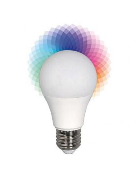 ΛΑΜΠΑ LED SMART BULB 6W Ε27 2700K+RGB 240V
