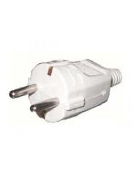 Φίς σούκο αρσενικό για καλώδιο µέχρι 3x2.5 10-16Α 250V