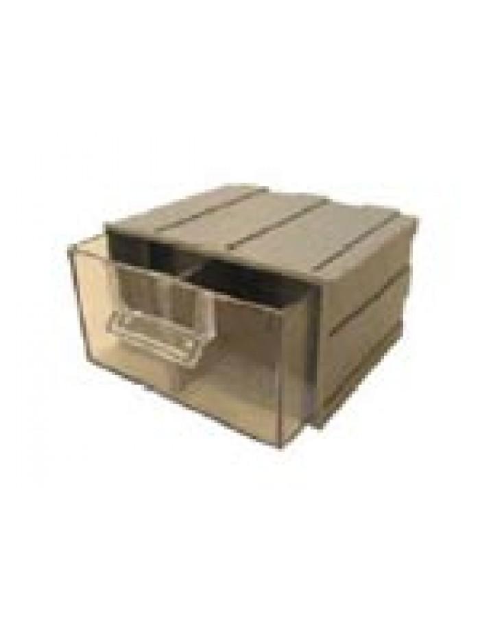 Κιβώτιο συρταρωτό µικρού µεγέθους µε διαχωριστικά 12,2x15x8,4cm
