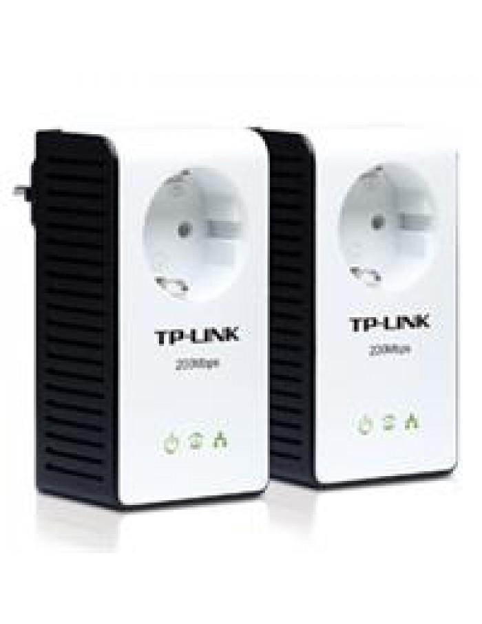 TP LINK TL-PA251KIT 200Mbps powerline Ethernet Adapter kit 60096 με πρίζα