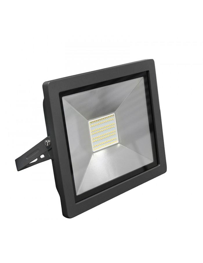 ΠΡΟΒΟΛΕΑΣ LED-SMD slim 70W 230V 3100K ΘΕΡΜΟ IP65 ΑΝΘΡΑΚΙ