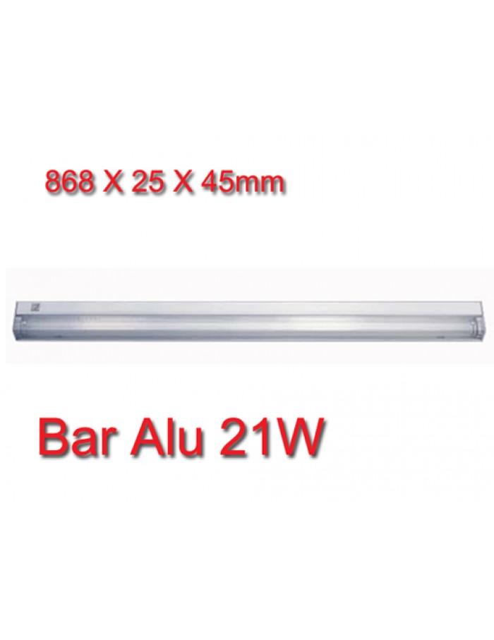 Bar Silver Φωτιστικό Φθορισμού 21W