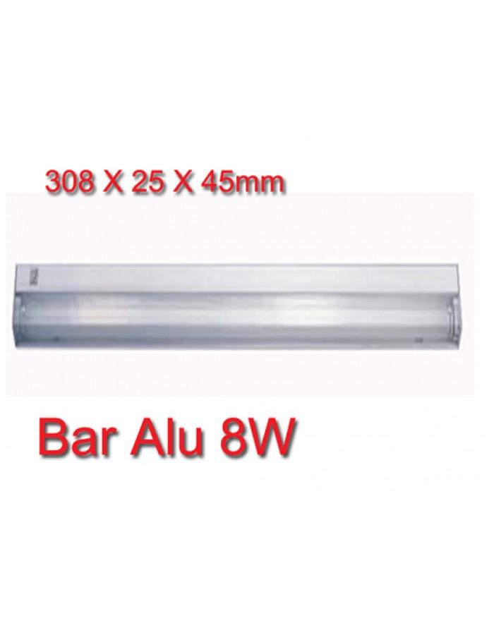Bar Alu Φωτιστικό Φθορισμού 8W