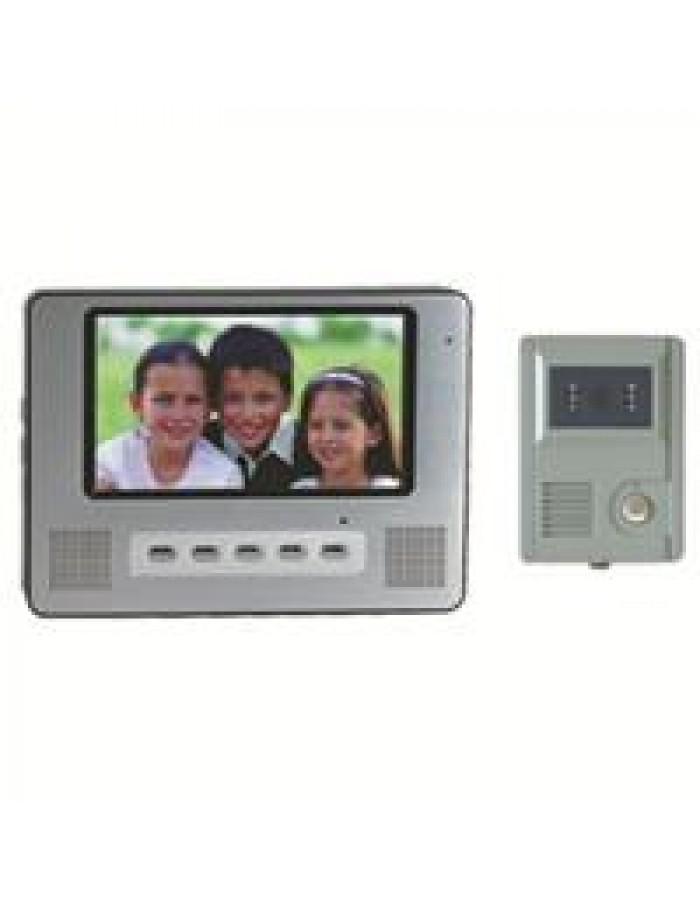 """Θυροτηλεόραση SE-VD708C/VD01C με έγχρωμο μόνιτορ 7"""" 85015"""