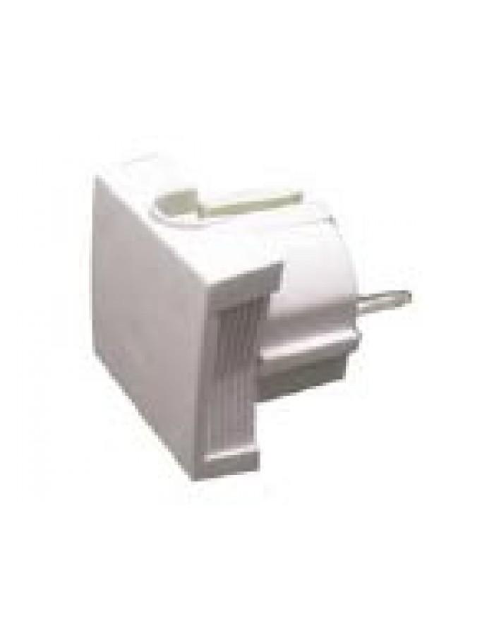 Φίς σούκο αρσενικό πλαγίας για καλώδιο µέχρι 3x2.5, 10-16A 250V