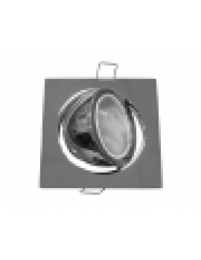 ΣΠΟΤ (WL628) MR16 ΑΛΟΥΜΙΝΙΟΥ ΤΕΤΡΑΓΩΝΟ ΚΙΝΗΤΟ 45' ΧΡΩΜΙΟ(CH)