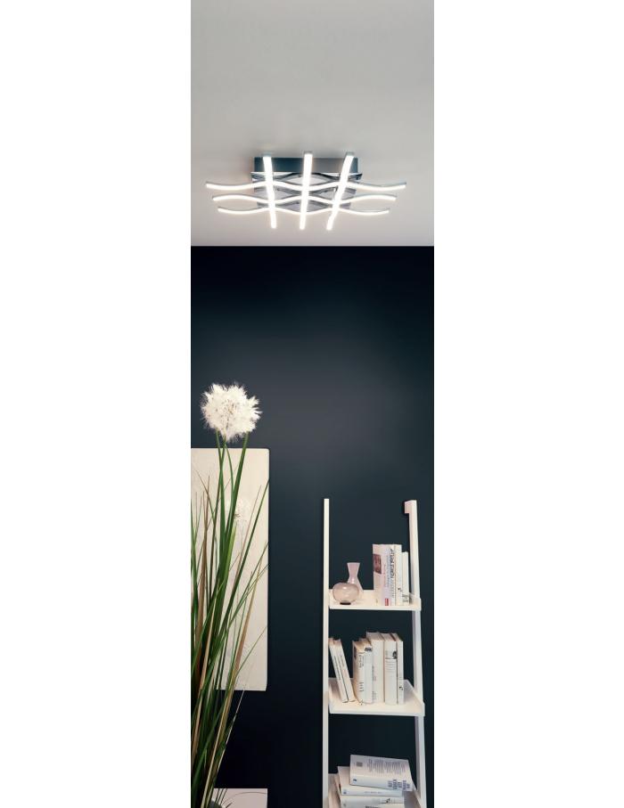 φωτιστικό οροφής lasana 1 95569 led 36w