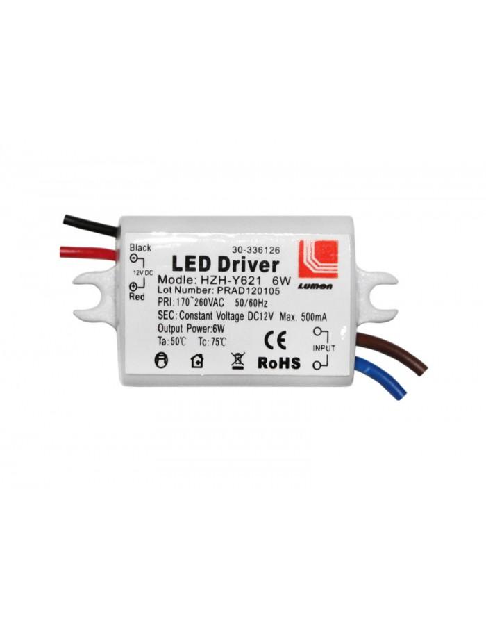 ΤΡΟΦΟΔΟΤΙΚΟ ΓΙΑ LED 220-240V/12VDC 6W