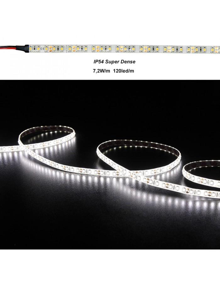 ΤΑΙΝΙΑ LED ΛΕΥΚΗ 12VDC 7.2W/m 120LED/m ΨΥΧΡΟ IP54