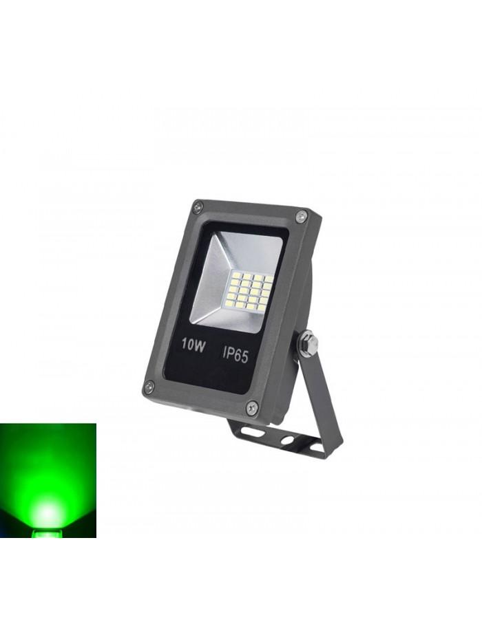 ΠΡΟΒΟΛΕΑΣ LED-SMD mini 10W 230V ΠΡΑΣΙΝΟ IP65 ΑΝΘΡΑΚΙ