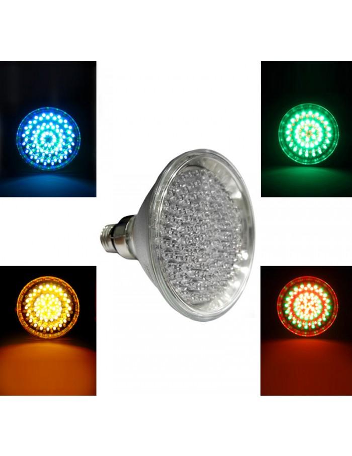 LED PAR38 E27 120LED 8.5W 230V 15' RGB